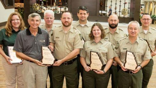 Georgia State Park and Historic Site managers receive accolades during recent conference
