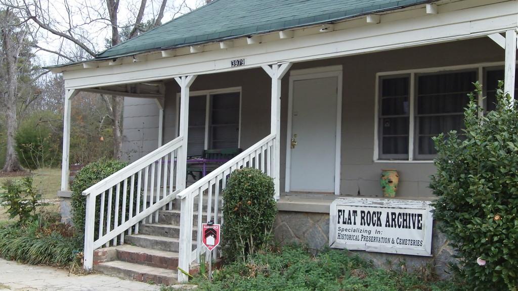 Flat Rock archive building