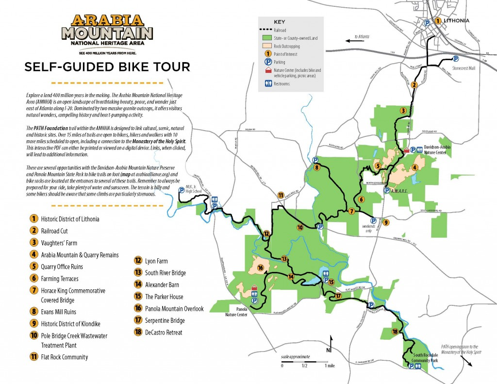 Picture of: Self Guided Bike Tour Arabia Mountain Heritage Area Alliance