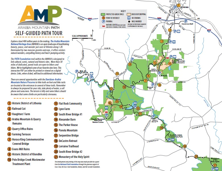 AMP Self Guided Tour
