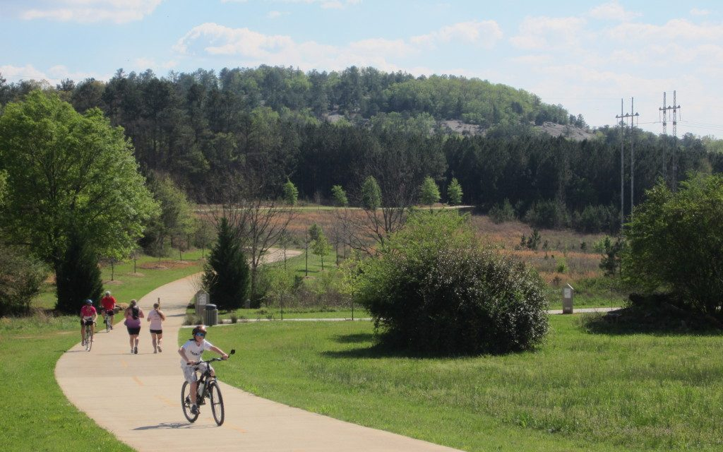 Best Bike Trails at Arabia Mountain in Georgia