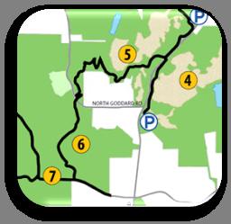 Bike Tour Map