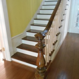 Lovely original stairway