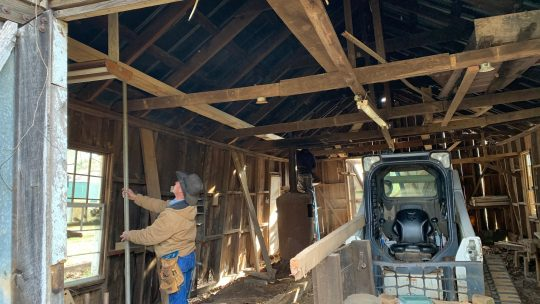 Preserving History: Construction Begins at the Lyon Farm