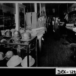 Historic Johnson Store interior