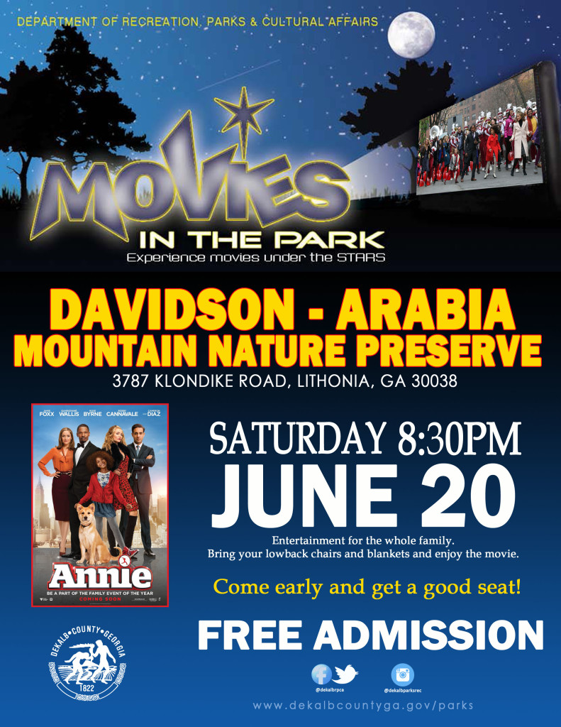 Movie in the Parks - Arabia Mountain (2)