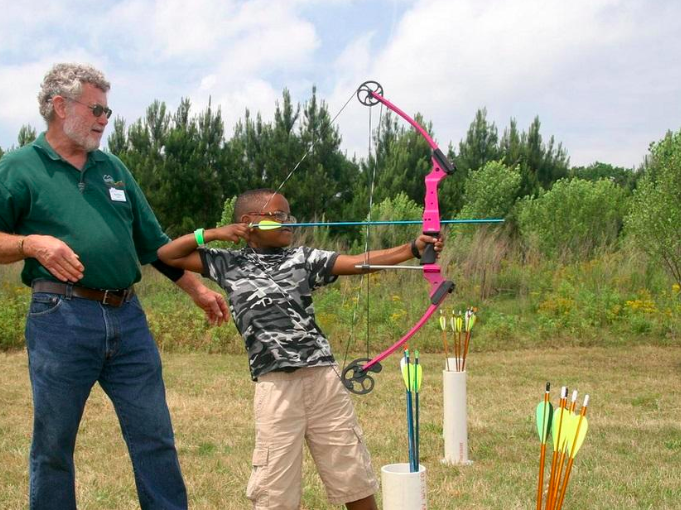 Summer Bullseye: Try Out Archery at Panola