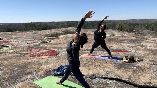 Mountaintop Yoga at Monadnock Madness