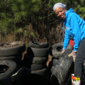 1,000+ Tires Hit The Road During Tire Round-Up